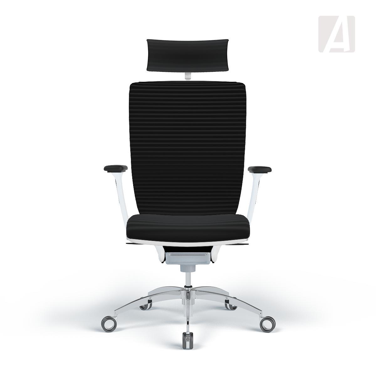 Bürostuhl weiß stoff  WAGNER Bürostuhl Titan 20 - 3D-Stoff Schwarz - Gestell Weiß ...
