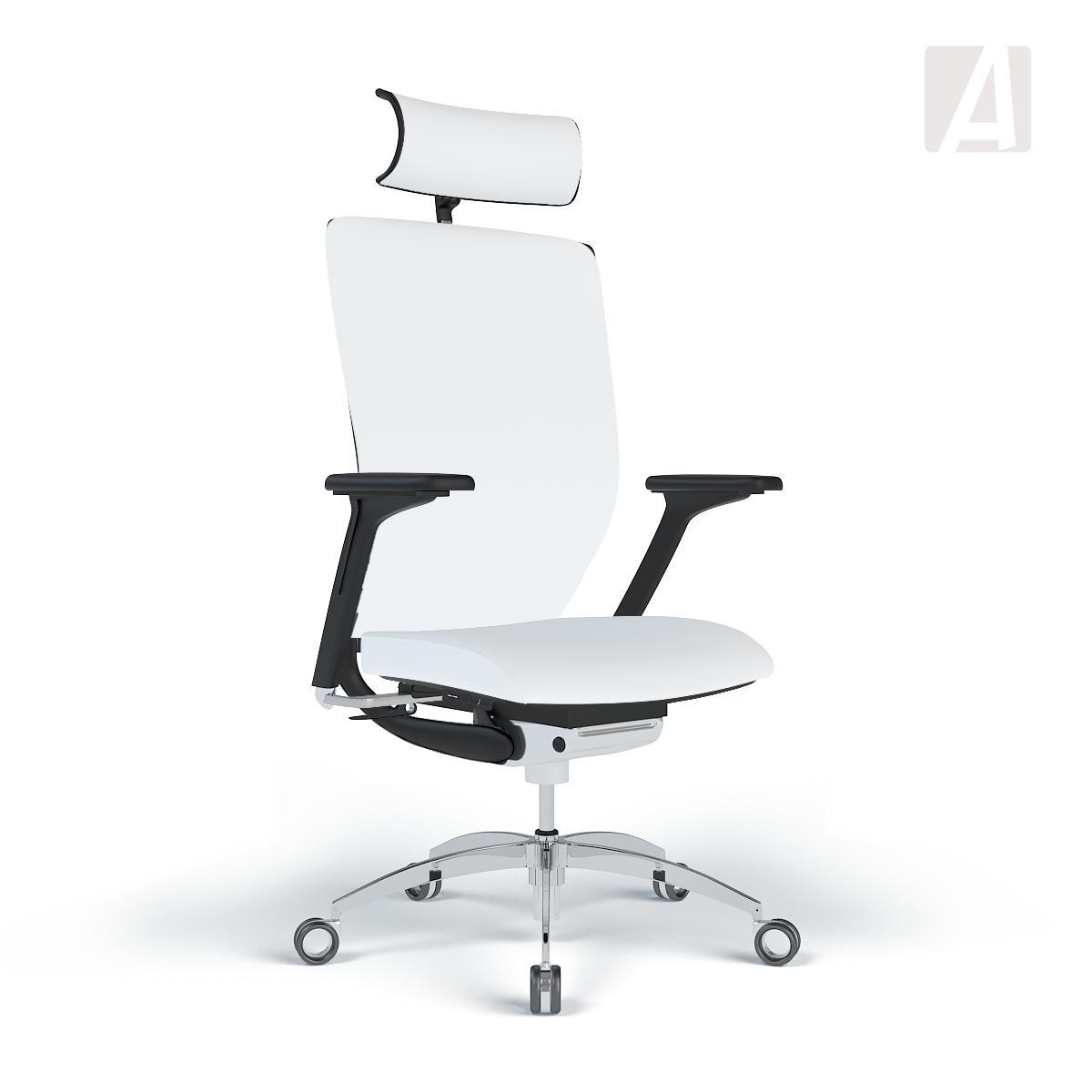 Bürostuhl weiß stoff  WAGNER Bürostuhl Titan 20 - Stoff Weiß - Gestell Schwarz | Apendics.de