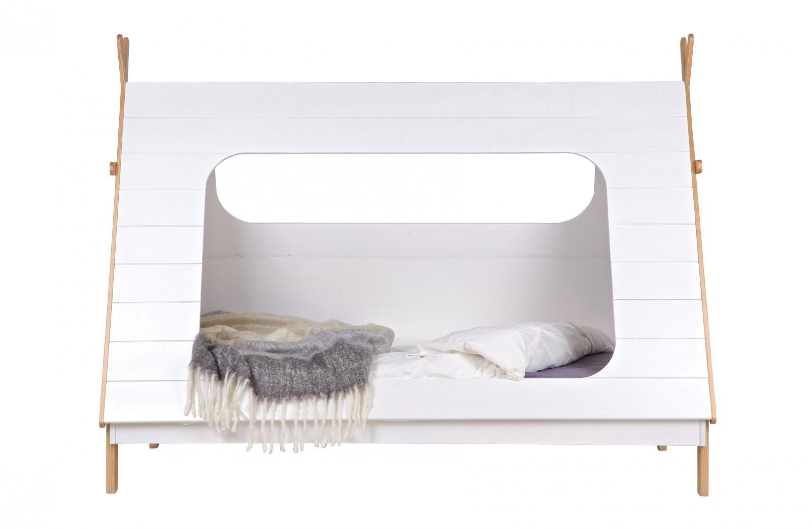 Woood Tipi Bett 90x200 Mit Lattenboden Apendics De