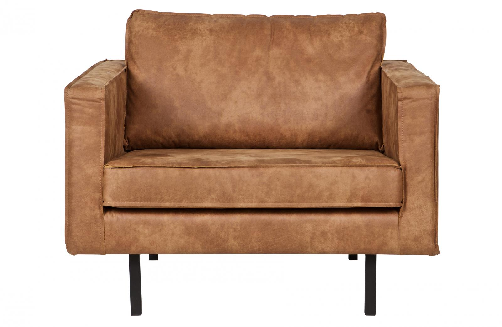 bepurehome rodeo sessel leder cognac ledersessel braun. Black Bedroom Furniture Sets. Home Design Ideas