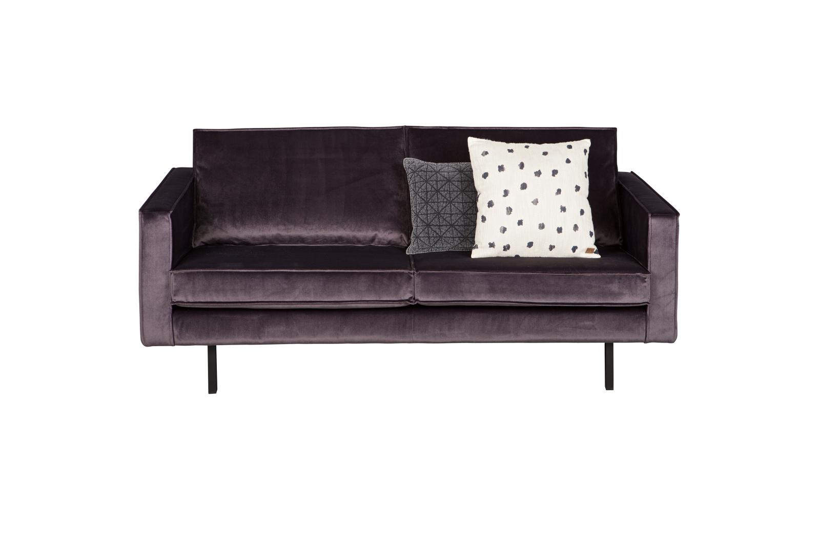 bepurehome rodeo samtsofa 2 5 sitzer grau samt couch. Black Bedroom Furniture Sets. Home Design Ideas