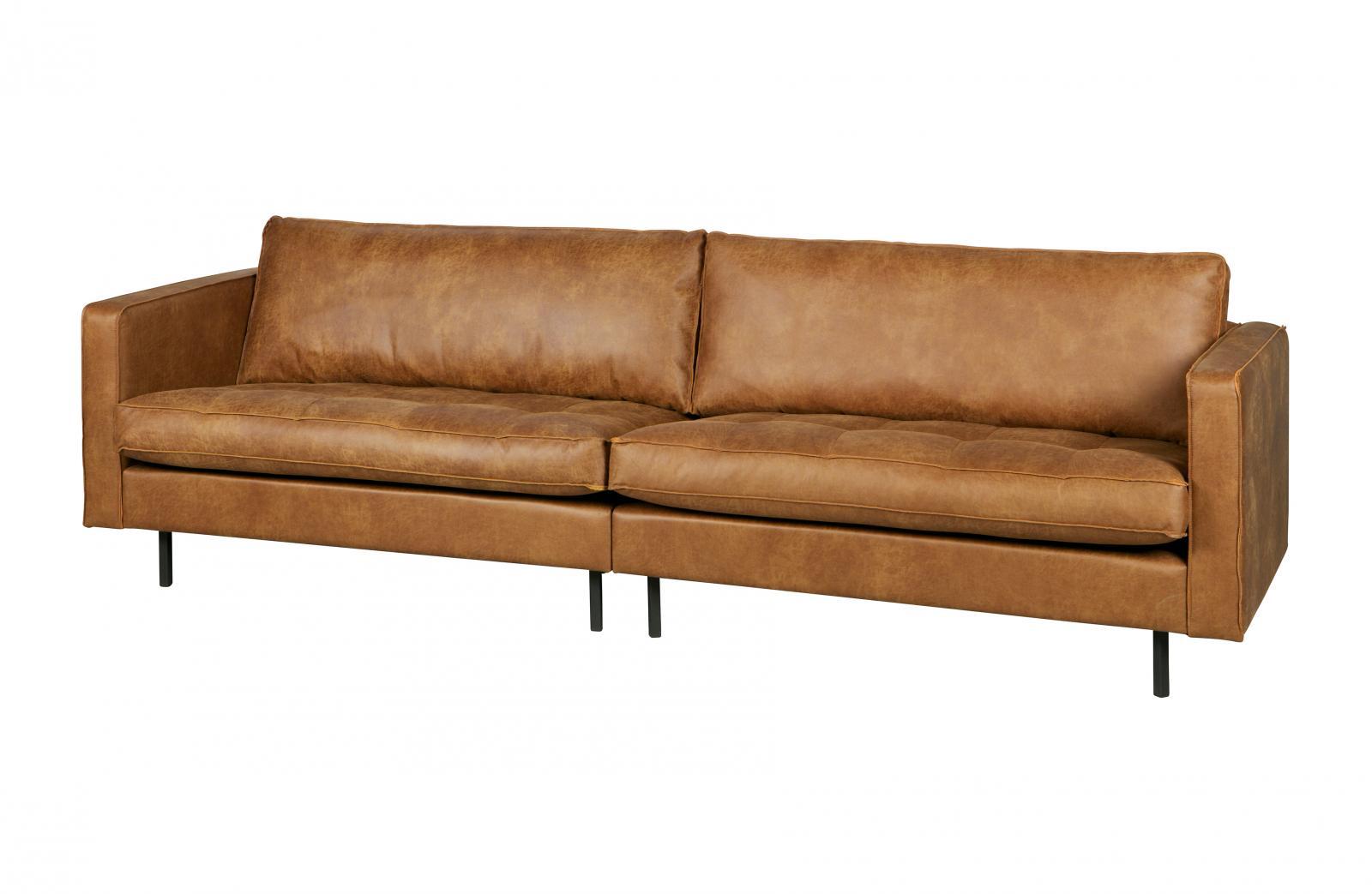 bepurehome rodeo classic ledersofa 3 sitzer cognac. Black Bedroom Furniture Sets. Home Design Ideas