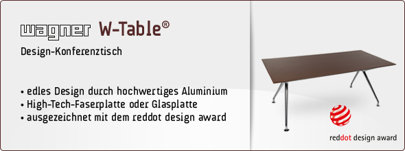 wagner w table wagner wellness. Black Bedroom Furniture Sets. Home Design Ideas